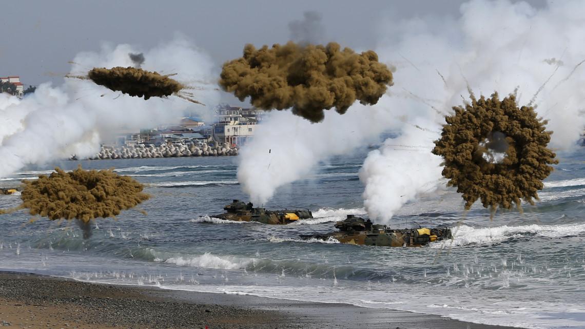 Manobras militares dos EUA e da Coreia do Sul preocupam a China