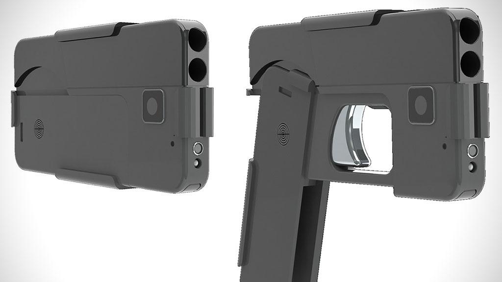 Pistola em formato de smartphone será lançada nos EUA
