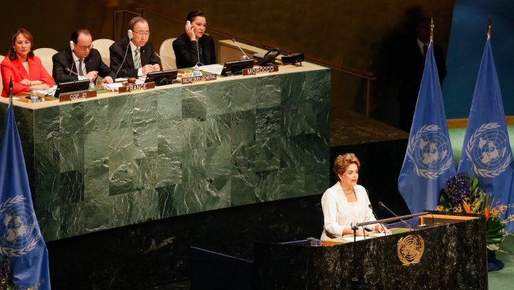 Na ONU, Dilma denuncia 'momento grave' do Brasil