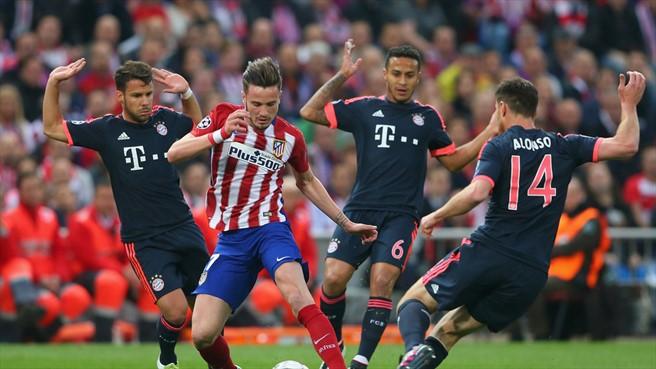 Com golaço, Atlético sai na frente do Bayern na Liga dos Campeões