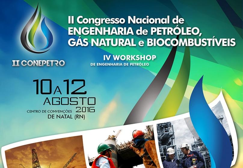 Natal sedia segunda edição do Congresso Nacional de Engenharia de Petróleo, Gás Natural e Biocombustíveis