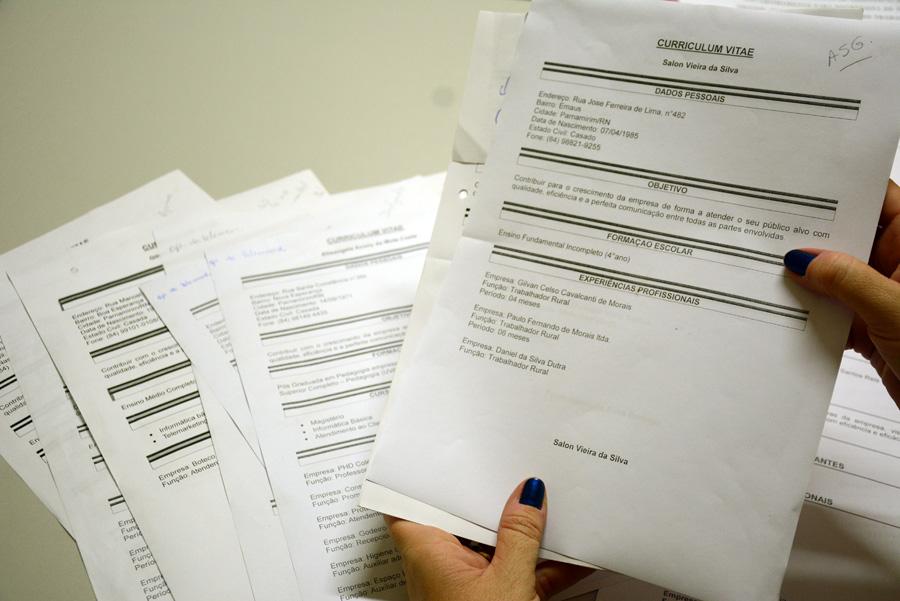 Semas disponibiliza registro de currículos e encaminhamentos em Parnamirim