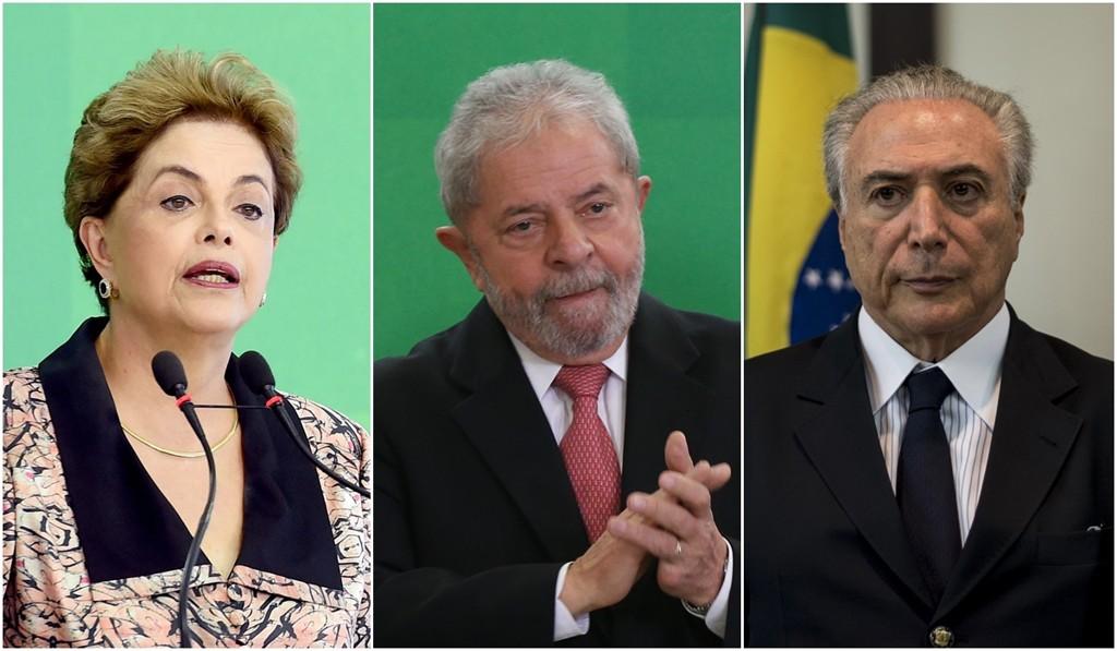 STF inclui citações a Dilma, Temer e Lula em inquérito da Lava Jato