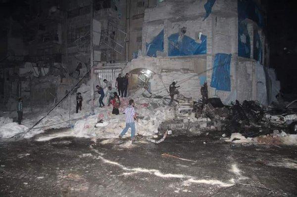 Ataque contra hospital da MSF mata 30 na Síria