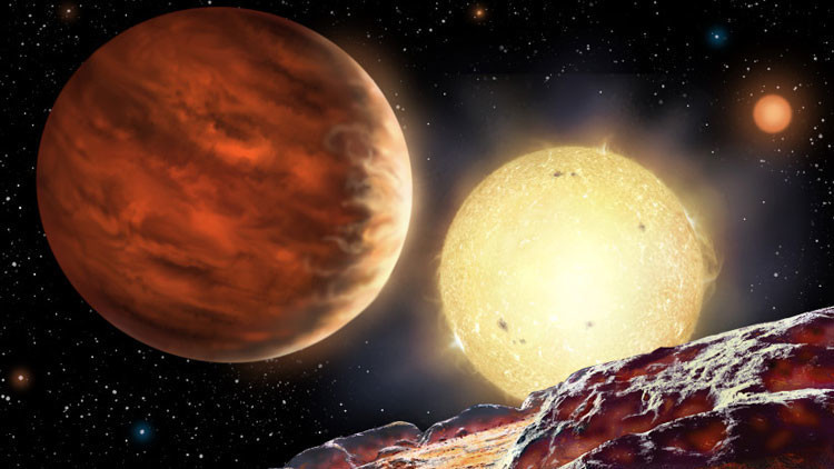 Cientistas descobrem novo planeta com um sistema solar triplo