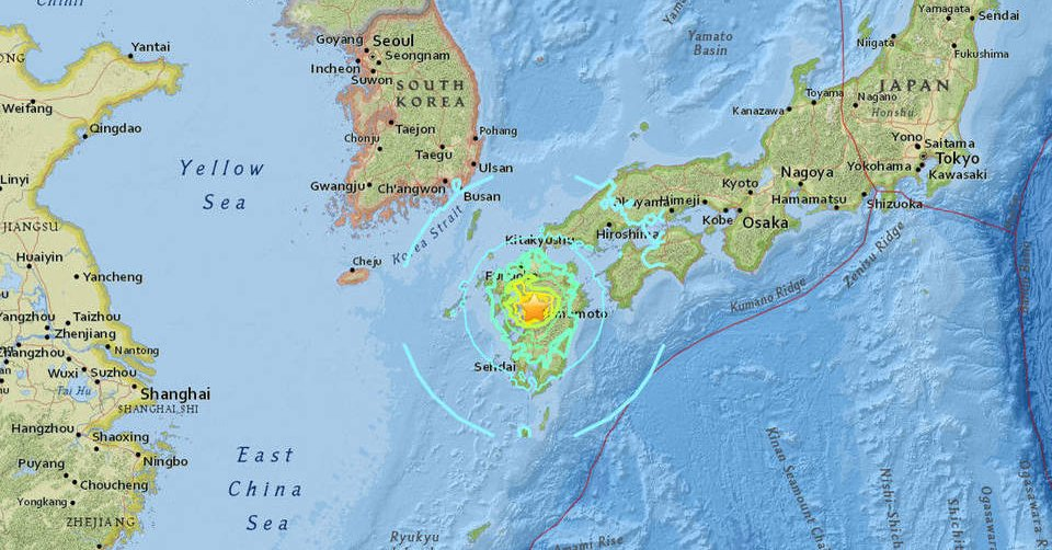 Japão lança alerta de tsumani após forte terremoto