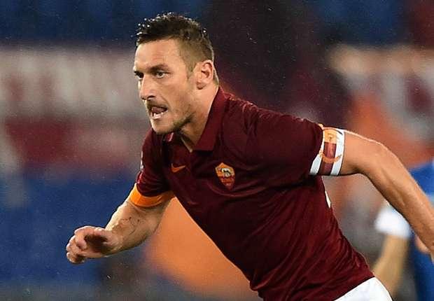 Para treinador da Roma, Totti é 'patrimônio' do clube