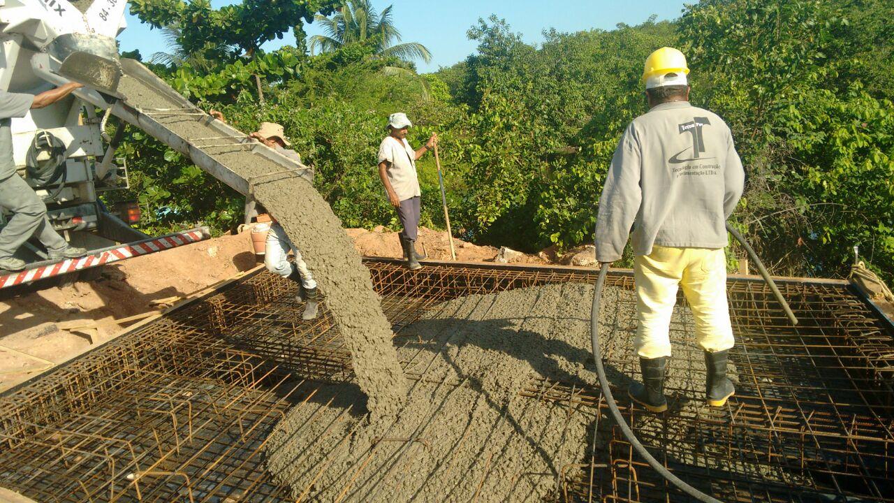DER inicia concretagem de ponte sobre Rio Doce, na Redinha