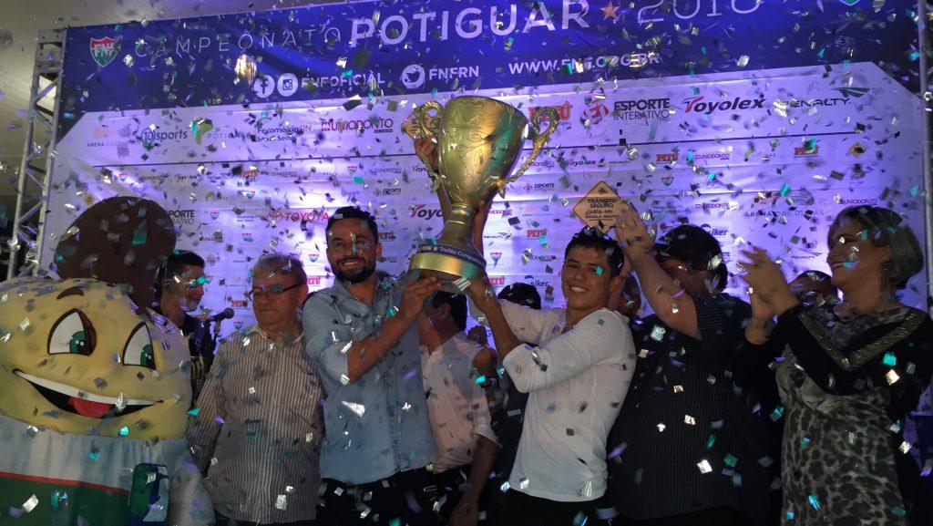 ABC domina seleção do prêmio Craque Potiguar 2016