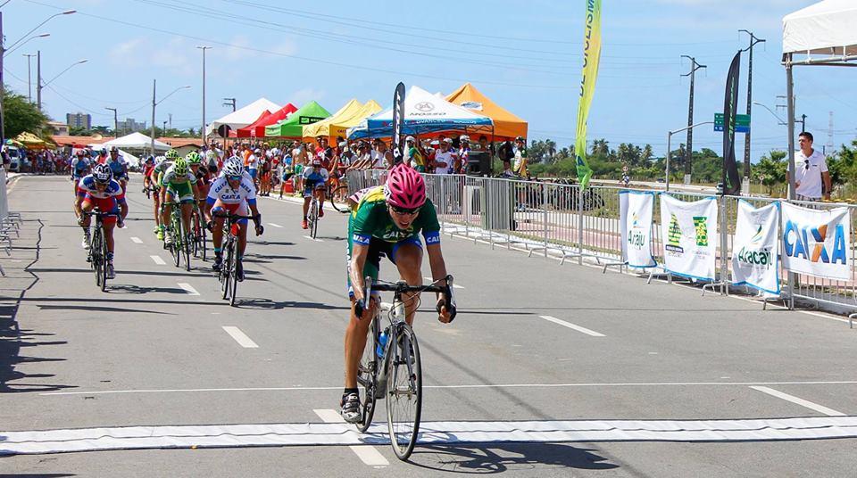 Ciclista de Parnamirim conquista três medalhas na Copa Nordeste