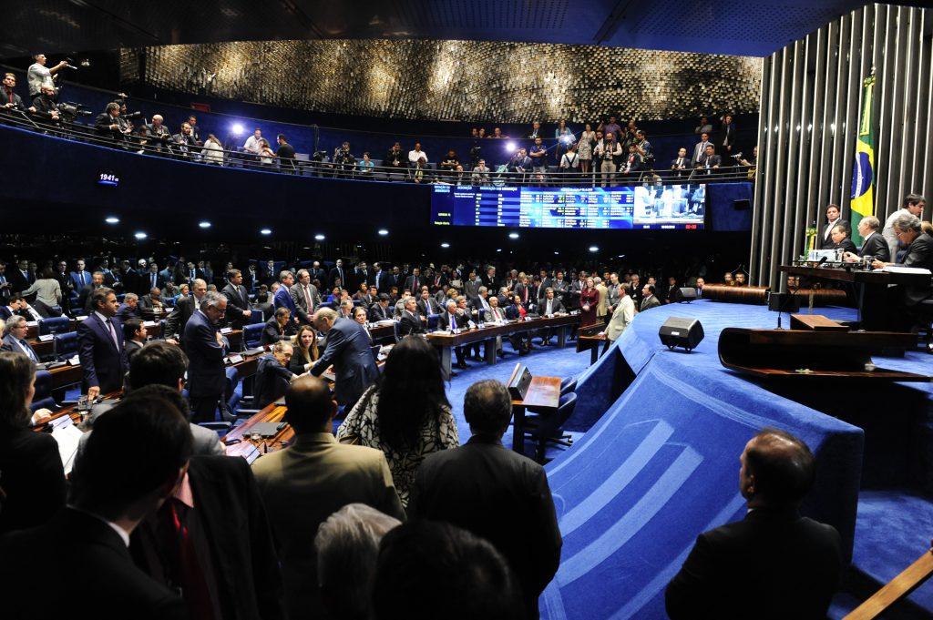 Acompanhe ao vivo a votação do impeachment de Dilma no Senado
