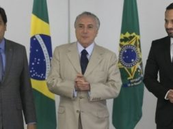 Marcelo Calero, Temer e mendonça filho