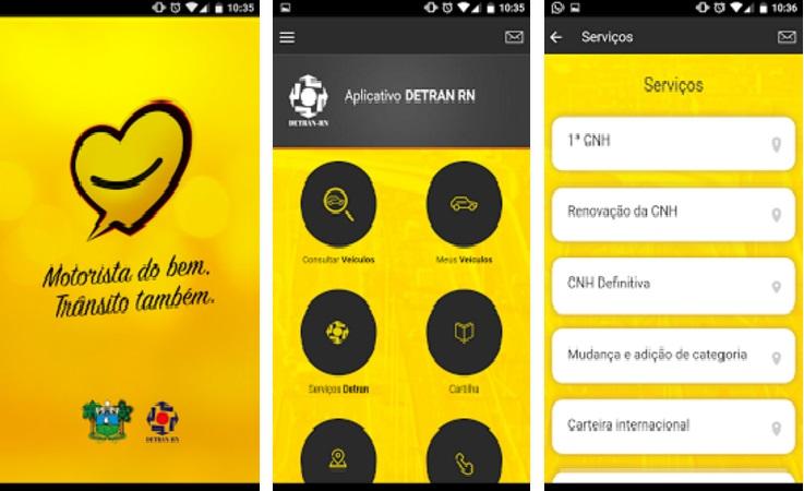Detran lança aplicativo com serviços úteis ao usuário pelo celular