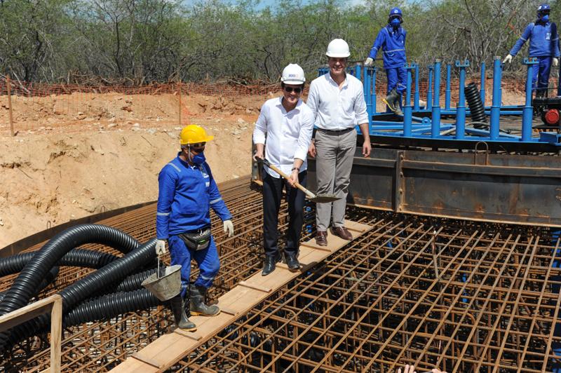Complexo eólico em Pedra Grande tem construção iniciada