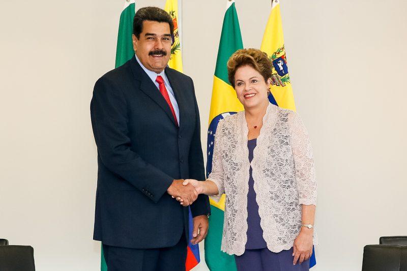 Após afastamento de Dilma, Maduro retira embaixador da Venezuela no Brasil