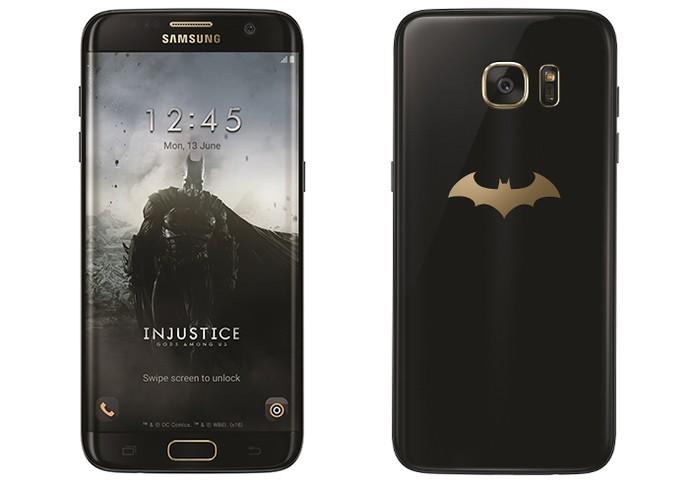 Galaxy S7 Edge ganha 'turbinada' com versão especial do Batman