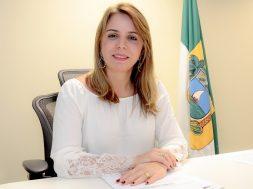 Kalina Leite, secretária de segurança do RN