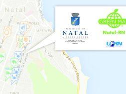 mapa verde natal