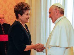 papa e dilma