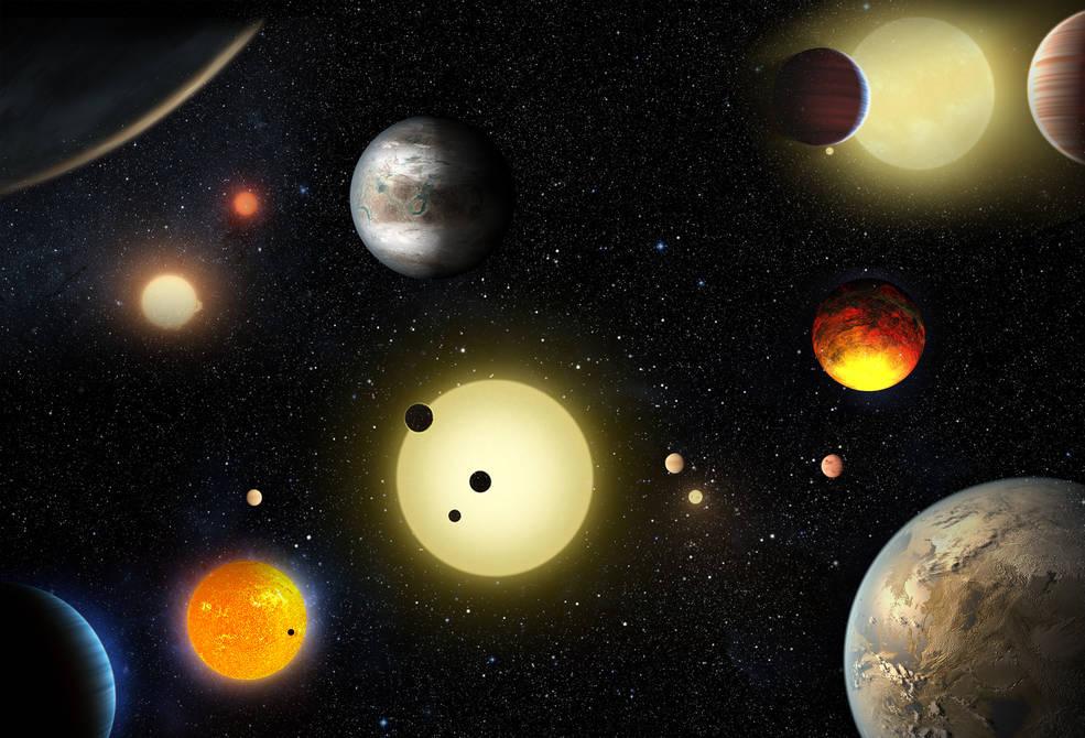 Nasa anuncia descoberta de mais de mil planetas