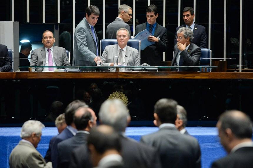 Senado ignora decisão de Maranhão e mantém processo de impeachment