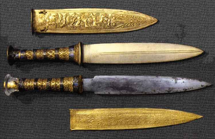 Pesquisa revela que o punhal de Tutancâmon foi feito de um meteorito
