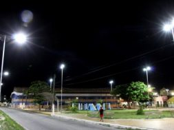 ribeira com LED