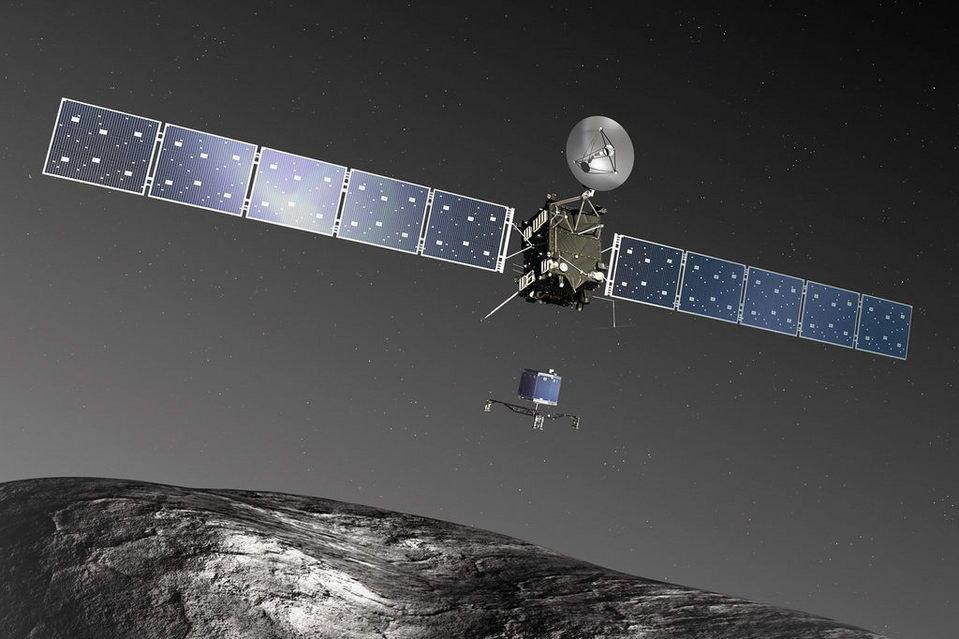 Sonda Rosetta localiza robô Philae e se prepara para adeus