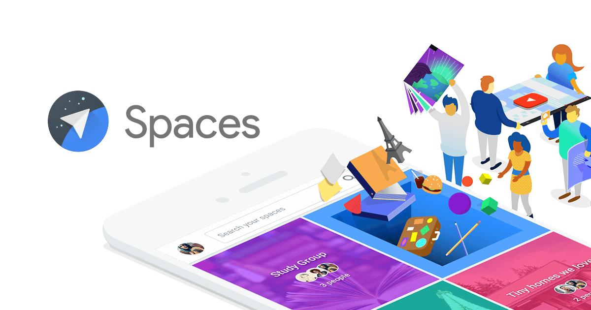Conheça 'Spaces', a nova rede social do Google