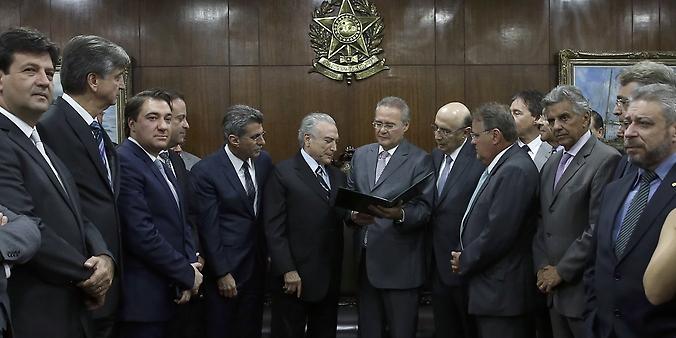 Temer sanciona nova meta fiscal de 2016 com deficit de R$ 170 bilhões