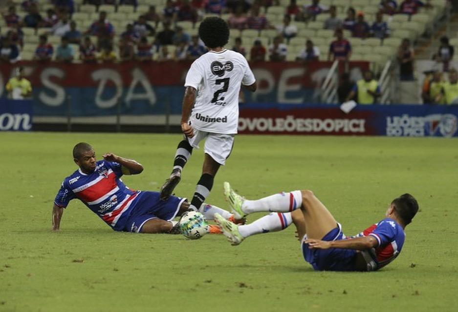 ABC faz boa partida e derrota o Fortaleza no Castelão