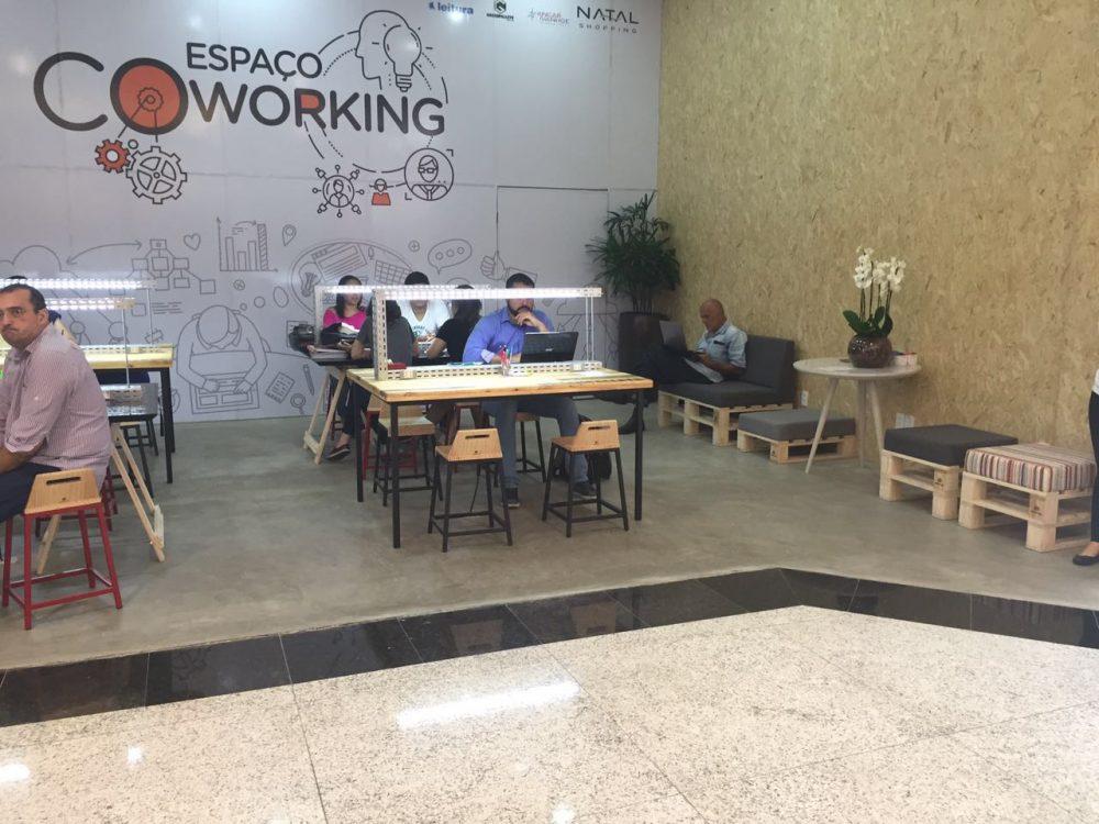 Espaço Coworking do Natal Shopping recebe mais de 500 usuários em duas semanas