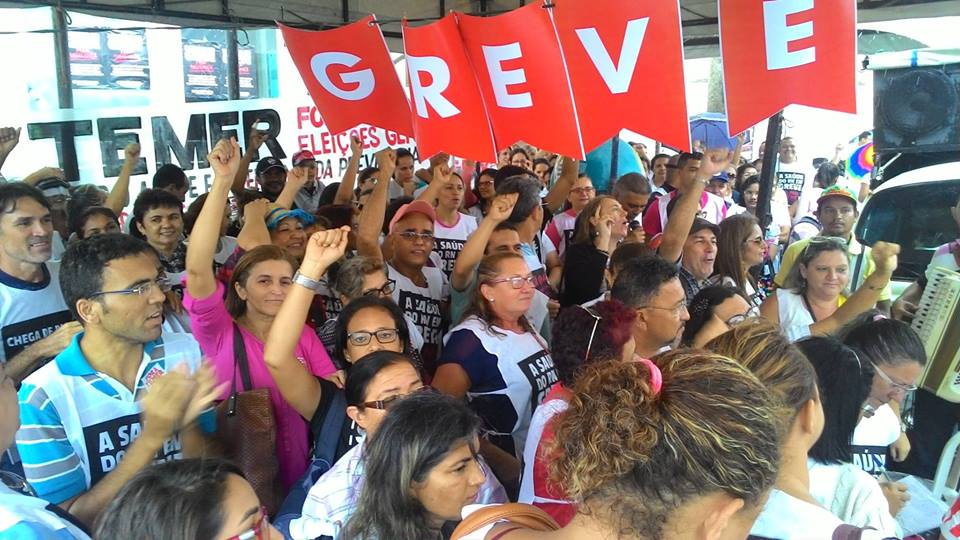 Em greve, servidores da saúde realizarão atendimento em praça de Natal/RN