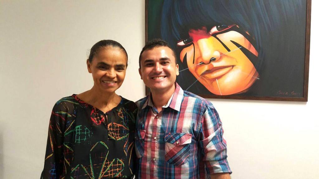 Marina Silva lançará Freitas Júnior como seu candidato à prefeito de Natal