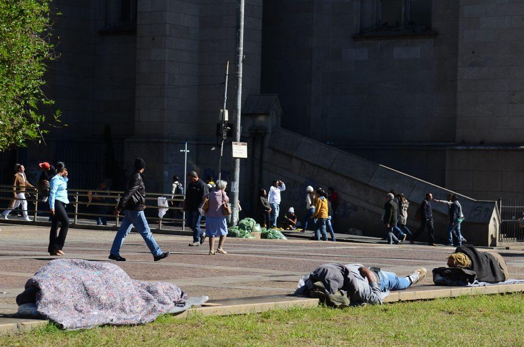 Morre mais um morador de rua por causa do frio em SP