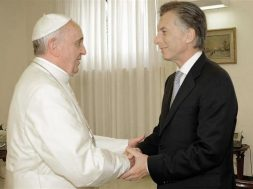 papa francisco e macri