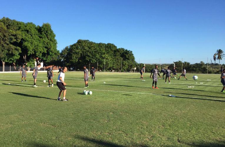 ABC encerra preparação para o jogo contra o Fortaleza