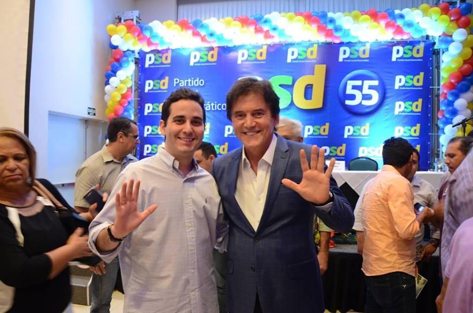 Robinson Faria participa de encontro com pré-candidatos do PSD Natal