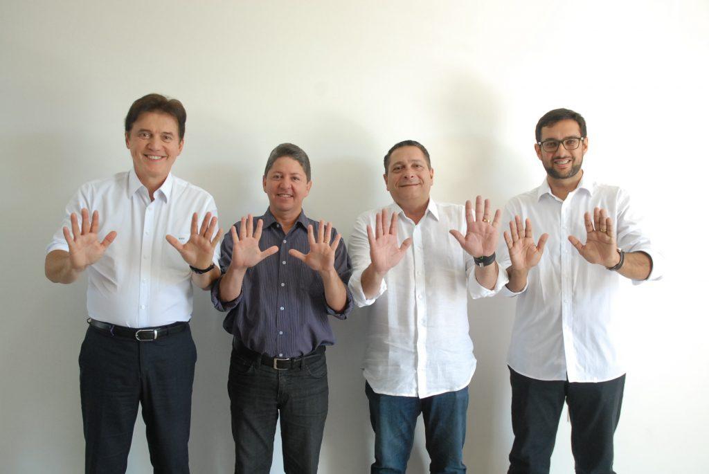 Robinson e Ezequiel formam aliança para candidato em Macau