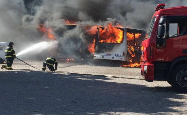 Com novos ataques a ônibus em Natal, empresas recolhem frota