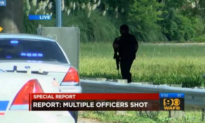 Homem abre fogo e mata 3 policiais em Baton Rouge