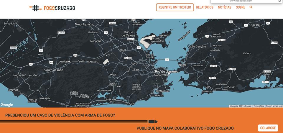 "Rio 2016: app ""Fogo Cruzado"" vai mapear tiroteios na Cidade Olímpica"