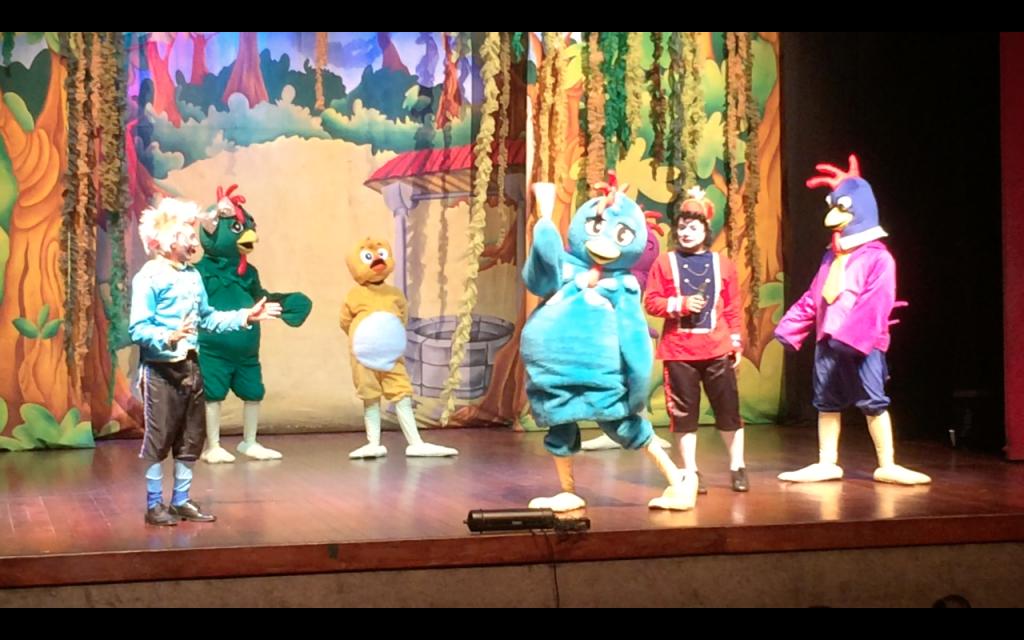 Backyardigans, Galinha Pintadinha e Peppa Pig animam o Teatro da Cultura Popular