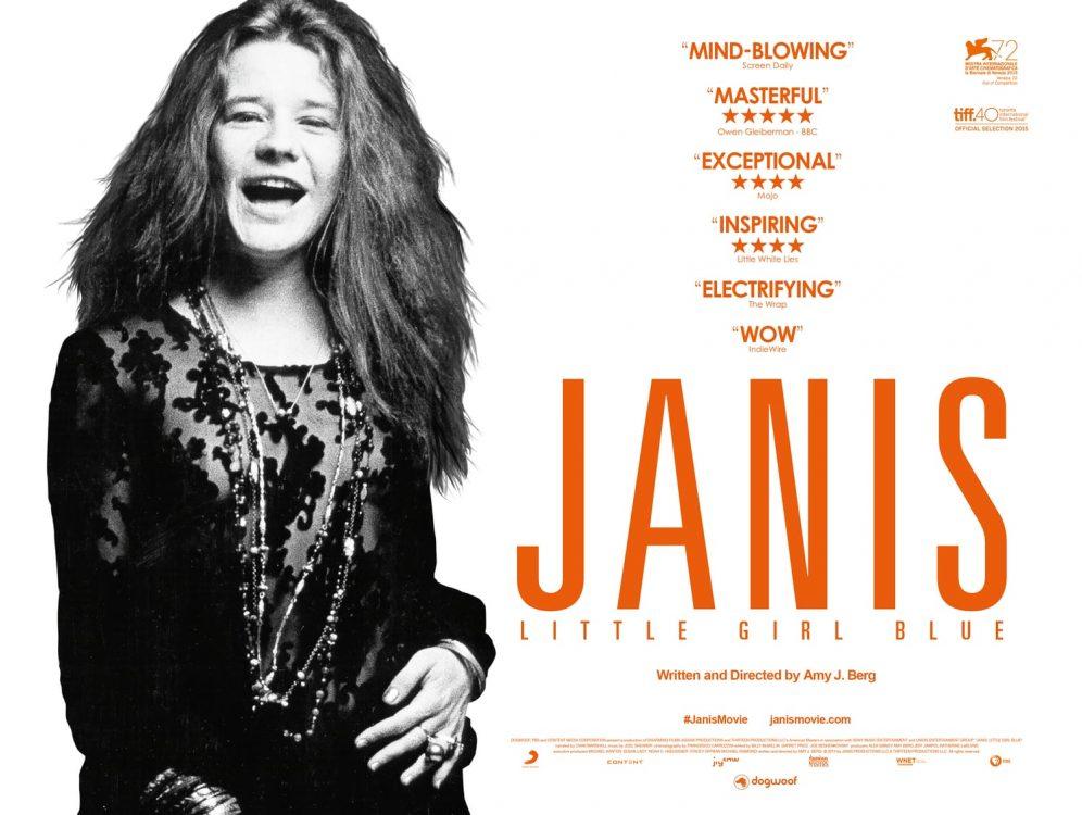 Documentário sobre Janis Joplin terá duas sessões