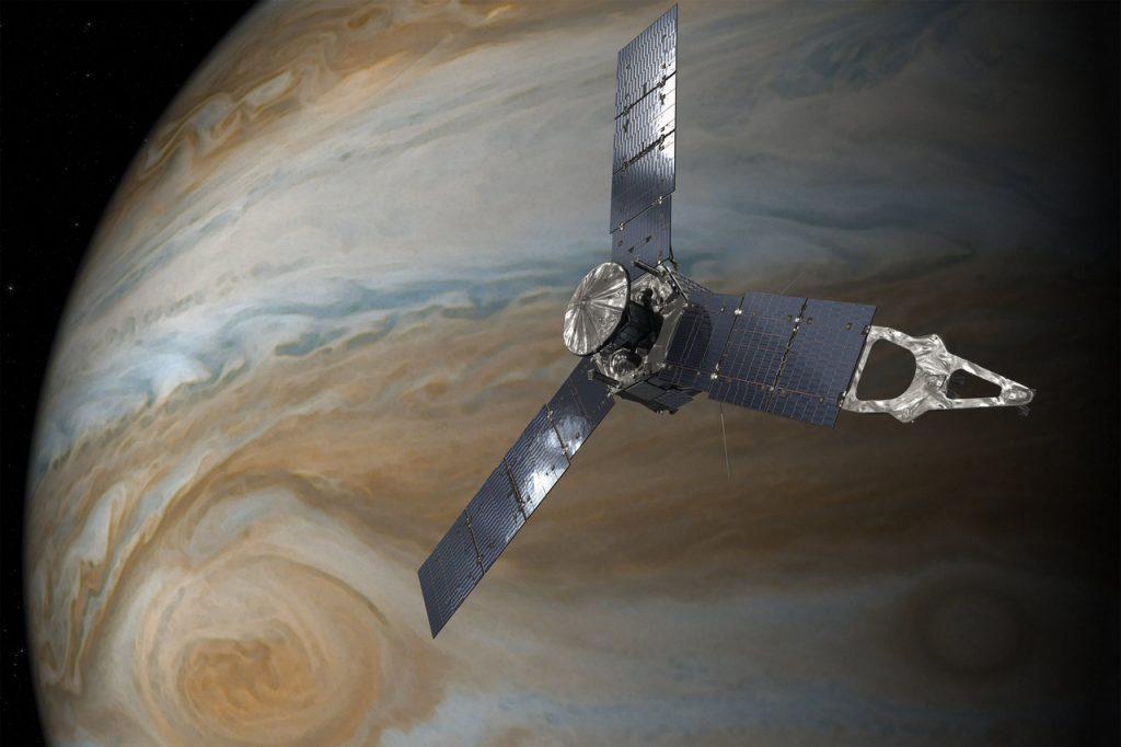 Sonda Juno chega a Júpiter após quase cinco anos de viagem