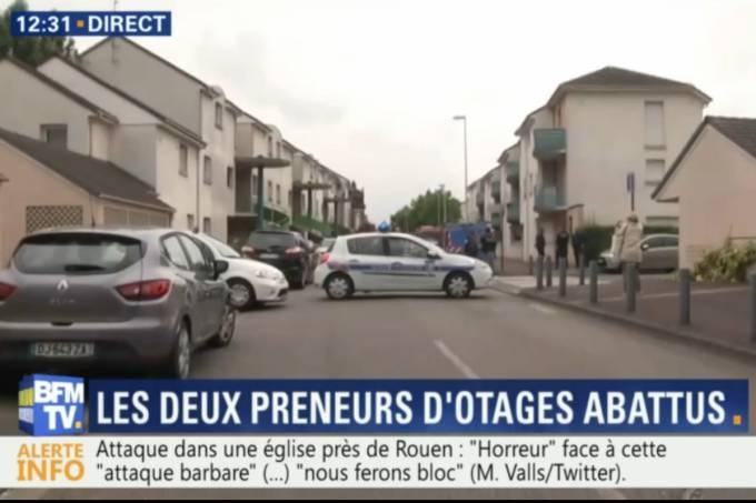 Estado Islâmico reivindica ataque à igreja na França