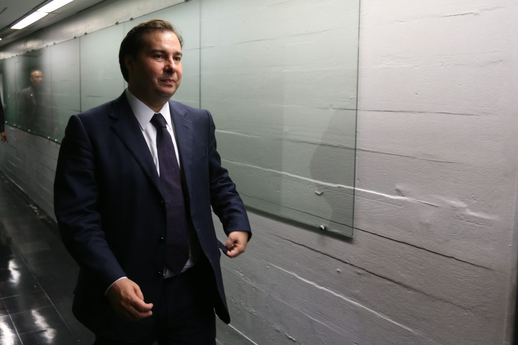 Com 285 votos, Rodrigo Maia é eleito presidente da Câmara dos Deputados