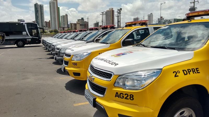Governo do RN recebe novos veículos e armas para Segurança Pública