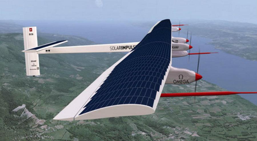 Solar Impulse 2 completa volta ao mundo
