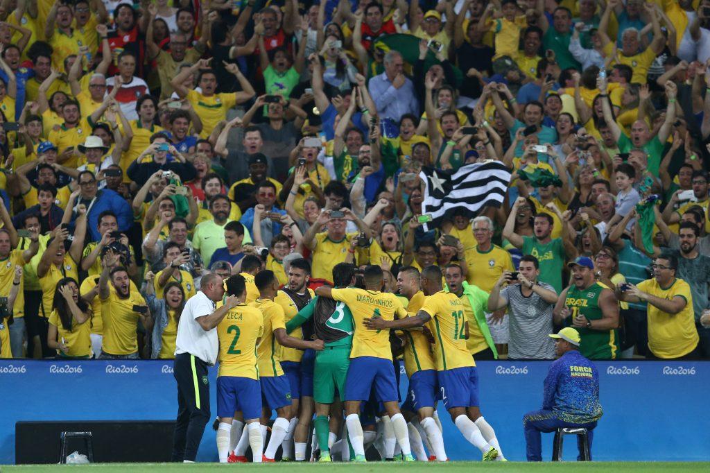 Brasil derrota Alemanha e conquista primeiro ouro olímpico no futebol